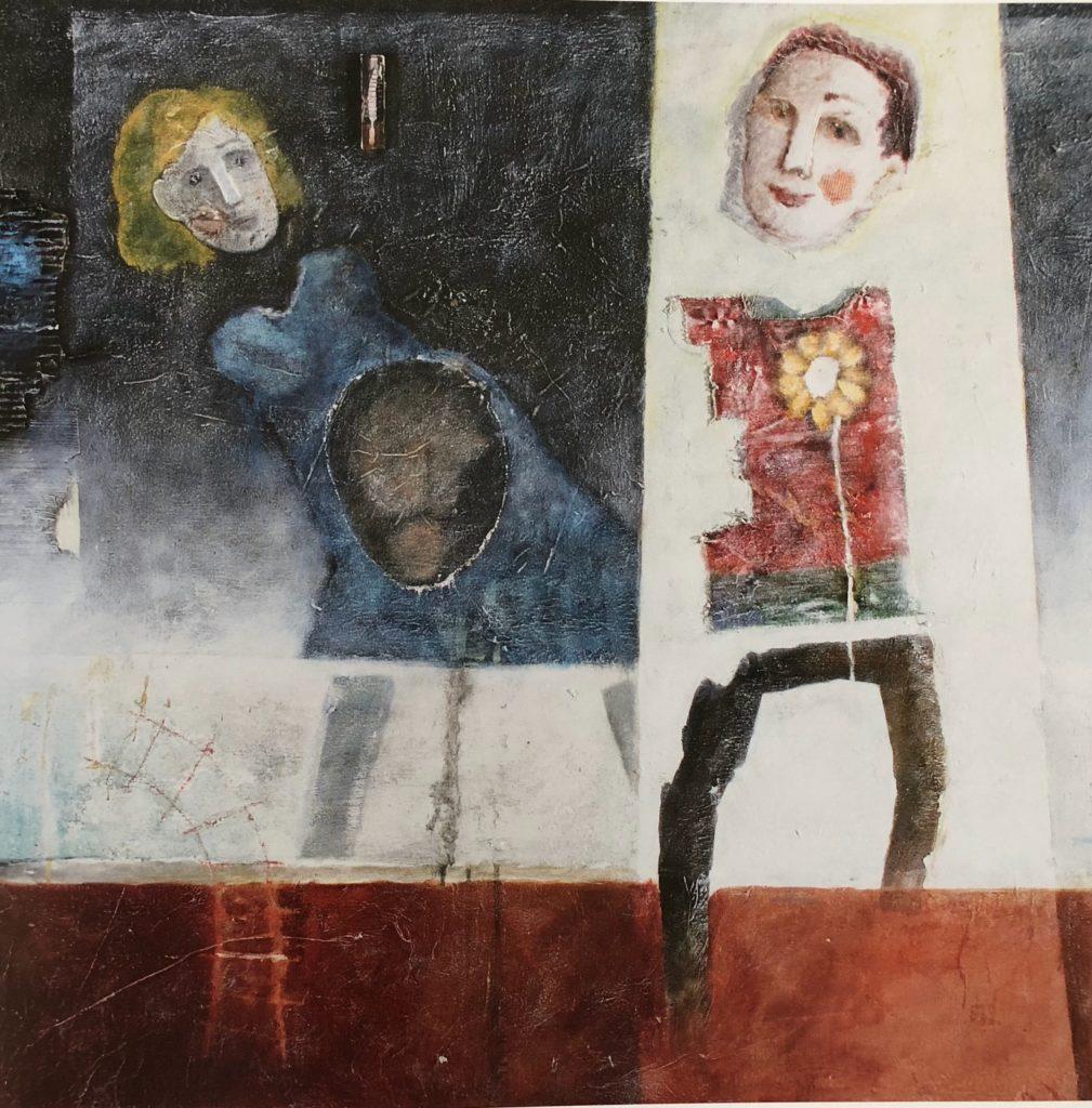 Cercando di capire la felicità, 2019, Racconto di Elisa Volonterio, ispirato all'opera omonima del 1999
